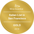 Italian List in San Francisco Gold